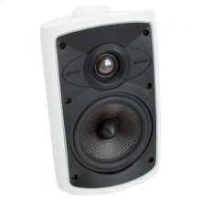 White, Indoor/Outdoor Loudspeaker; 5-in. Carbon Woofer 2-Way-White OS5.5 - White