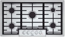 "36"" Gas Cooktop 800 Series - Stainless Steel"