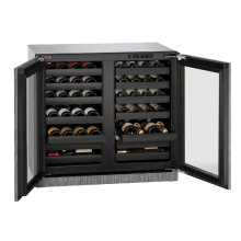 """Modular 3000 Series 36"""" Wine Captain® Model With Integrated Frame Finish and Double Doors Door Swing (115 Volts / 60 Hz)"""