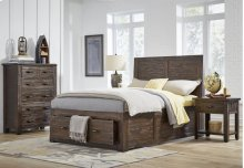 Jackson Lodge Full Panel Headboard