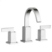Times Square Arched Widespread Faucet - Polished Chrome