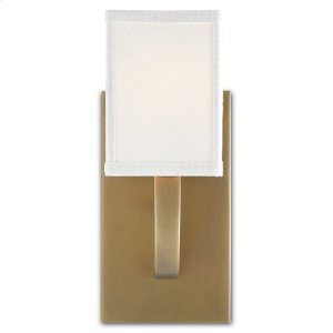 Sadler Brass Wall Sconce