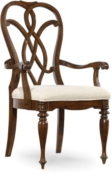 Leesburg Splatback Arm Chair