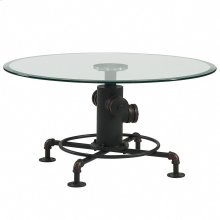 Bronx Coffee Table in Antique Black