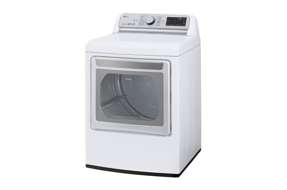 7.3 cu.ft. Smart wi-fi Enabled Electric Dryer with TurboSteam™ Photo #3