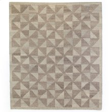 9'x12' Size Chess Natural Rug