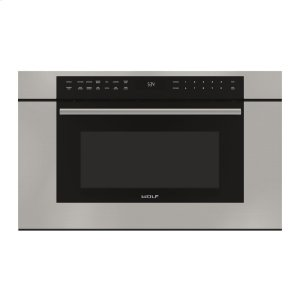 """WOLF30"""" M Series Transitional Drop-Down Door Microwave Oven"""