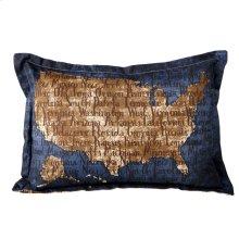 USA Lumbar Pillow.