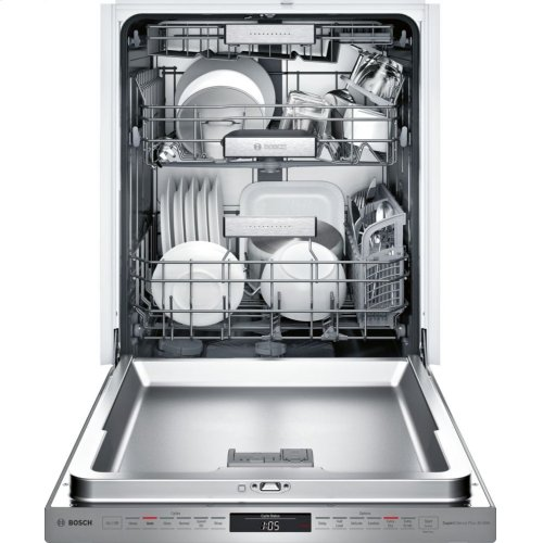 Benchmark® built-under dishwasher 24'' Stainless steel SHP88PW55N