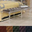 Marilyn Acrylic 6 Leg Bench-COM Product Image