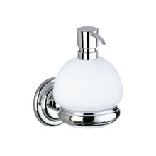 Lotion dispenser - chrome-plated