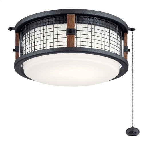 Ahrendale LED Outdoor Light Kit Auburn Stained