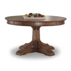 FLEXSTEELSonora Round Pedestal Dining Table