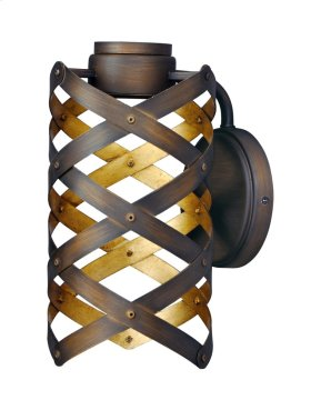 Weave LED 1-Light Wall Sconce