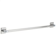 "Chrome 36"" Angular Modern Decorative ADA Grab Bar"