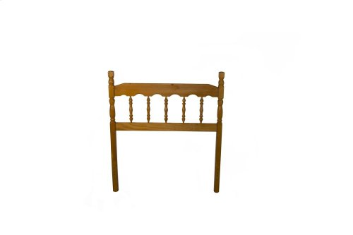 Pine Spindle Headboard - Twin