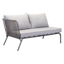 Pier Laf Double Seat Gray
