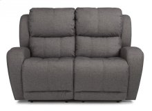 Chaz Fabric Power Reclining Loveseat