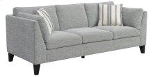 Emerald Home U3446-00-03 Elsbury Sofa, Gray