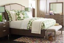 Upholstered Bed, Queen 5/0