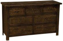 Seven Drawer Dresser - Cottonwood - Premium