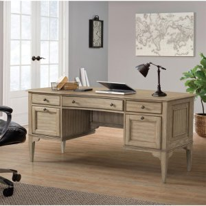 RiversideMyra - Writing Desk - Natural Finish
