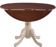 "42"" Complete Drop Leaf Table Espresso & Almond Product Image"