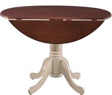 "42"" Complete Drop Leaf Table Espresso & Almond"