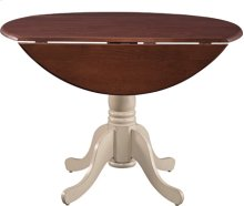 "42"" Complete Drop Leaf Table Espresso & Almond"