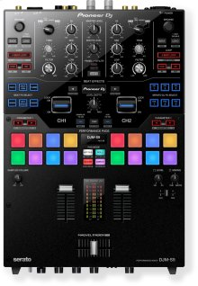 2-channel battle mixer for Serato DJ Pro (black)