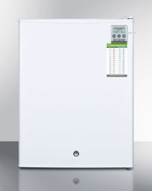 Compact Commercially Listed Manual Defrost All-freezer With Alarm, Hospital Grade Cord, External Thermometer and Lock