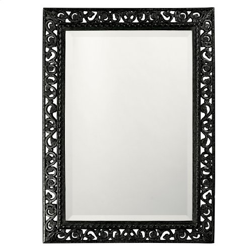 Bristol Mirror - Glossy Black