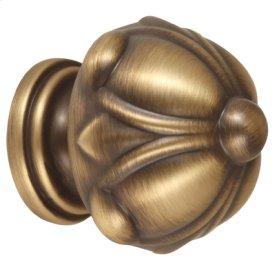Ornate Knob A6929-14 - Antique English Matte