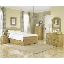 HB10 Panel Bed - King
