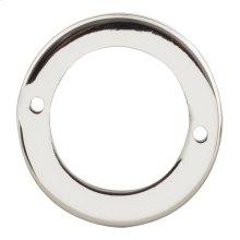 Tableau Round Base 1 13/16 Inch - Polished Nickel