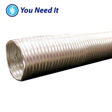 "4"" x 8' Flexible Aluminum Ducting"