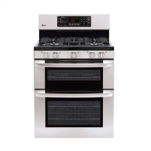 6.1 cu. ft. Capacity Gas Double Oven Range with EvenJet Convection System