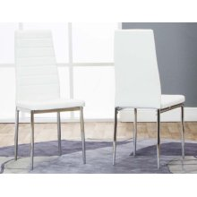 Delphi-side Chairs White