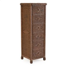 6 Drawer Lingerie Chest Coffee Bean 3706