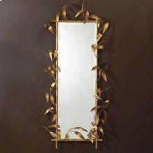 Bamboo Mirror-Antique Gold