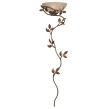 Flower Vine - 1 Light Wallchiere