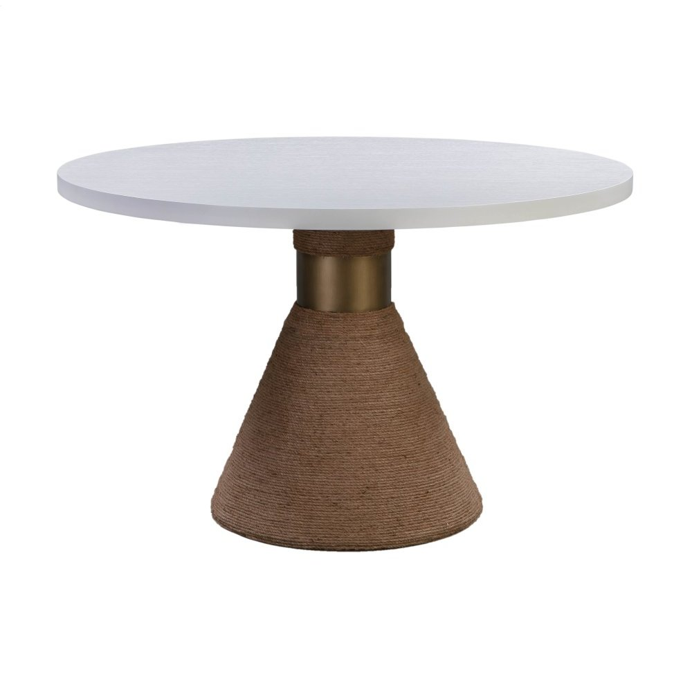 Rishi Natural Rope Round Table
