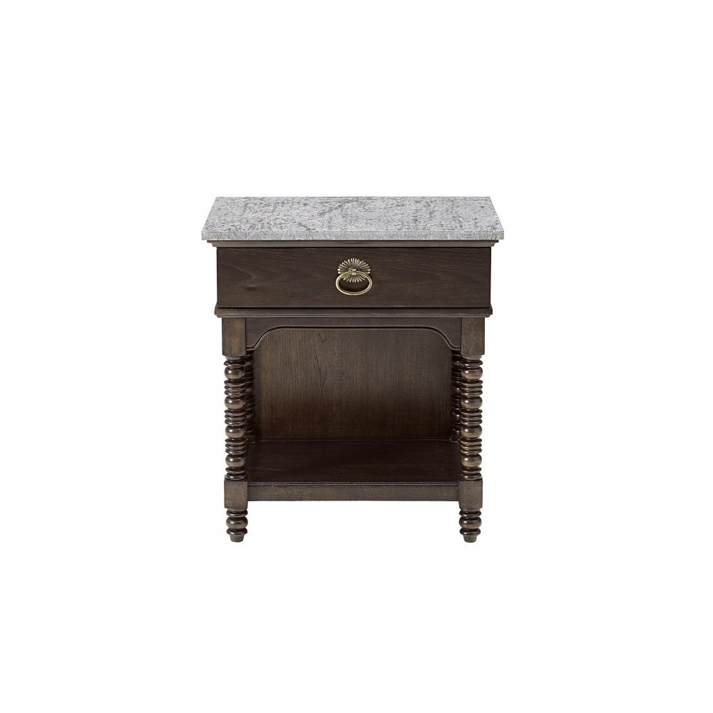 American Chapter Copperline Bedside Table