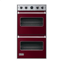 """Burgundy 27"""" Double Electric Premiere Oven - VEDO (27"""" Double Electric Premiere Oven)"""