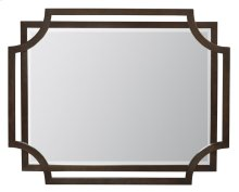 Jet Set Mirror in Caviar (356)