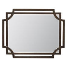 Jet Set Mirror in Caviar (356)