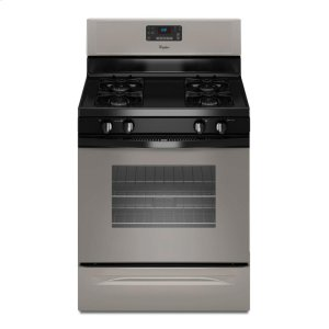 5.0 cu. ft. Capacity Gas Range with AccuBake® Temperature Management System - UNIVERSAL SILVER