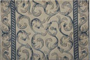 SOMERSET SCROLLWORK ST02 IVORY BLUE-B 27''