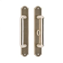 "Ellis Patio Sliding Door Set - 1 3/4"" x 11"" Silicon Bronze Brushed"