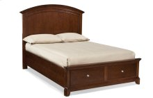 Impressions Panel Bed with Storage Full